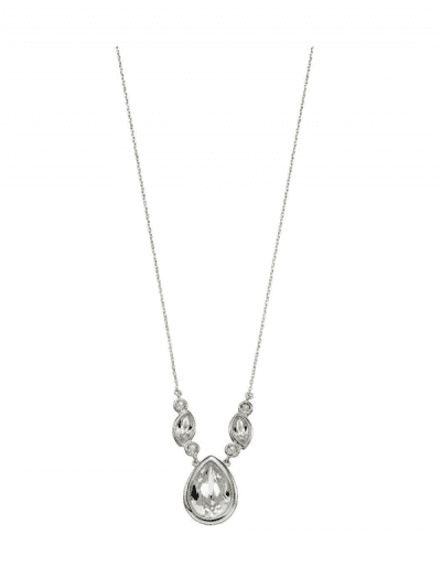 Elements Silver - crystal necklace