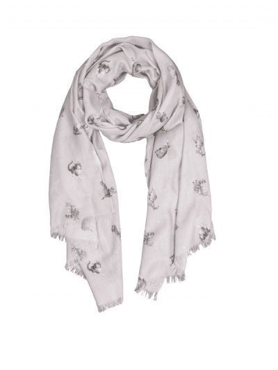 Wrendale cat scarf