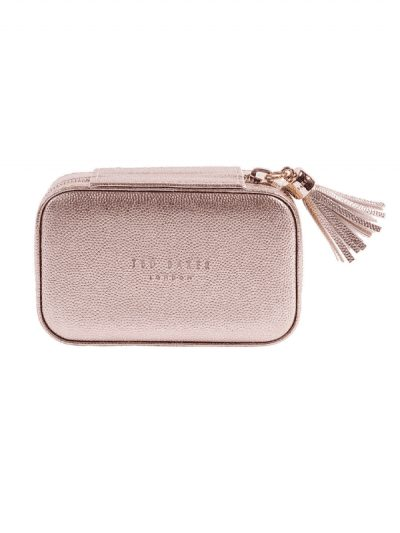 Ted Baker - mini jewellery case - pink