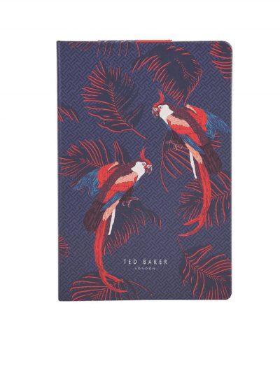 Ted Baker - parrot a5 notebook