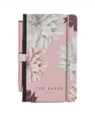 Ted Baker - mini notebook and pen