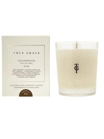 True Grace - cedar wood candle