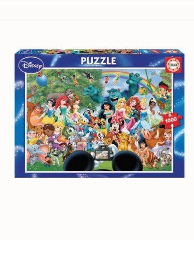 Disney - 1000 piece jigsaw - Marvellous World of Disney