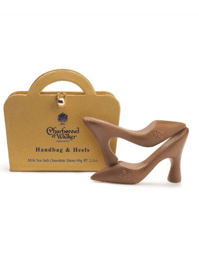 Charbonnel et Walker - salted caramel high heel shoes