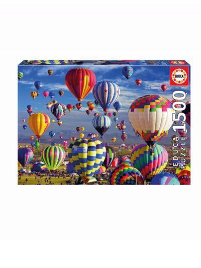 Educa - 1500 piece jigsaw - hot air balloons