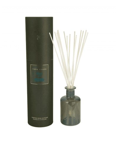 True Grace - library reed diffuser with green presentation box