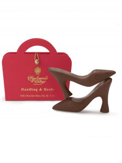 Charbonnel et Walker - milk chocolate high heel shoes