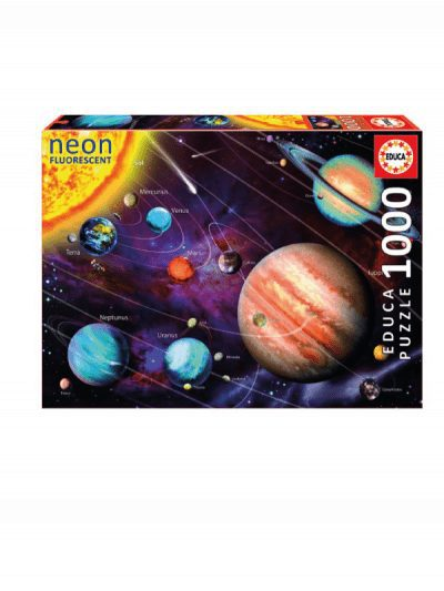 Educa - 1000 piece jigsaw - solar system
