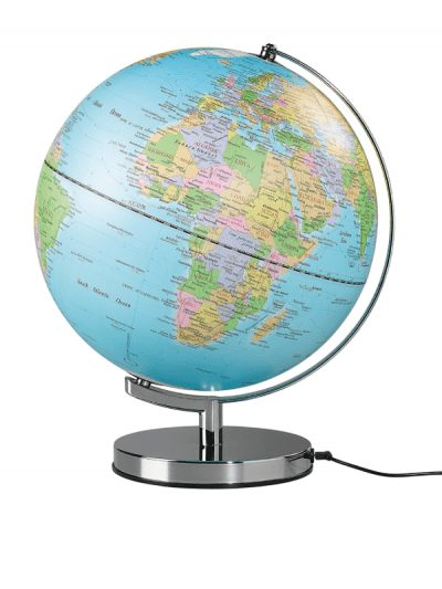 Wild & Wolf Traditional Globe plugged in