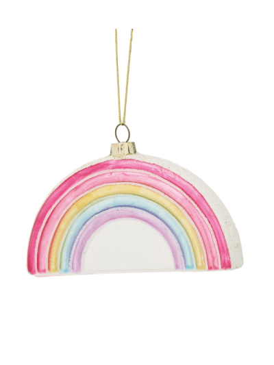 Sass & Belle rainbow hanging decoration
