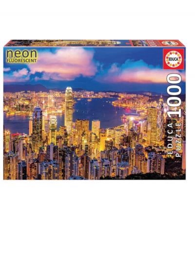 Educa Hong Kong 1000 piece neon jigsaw