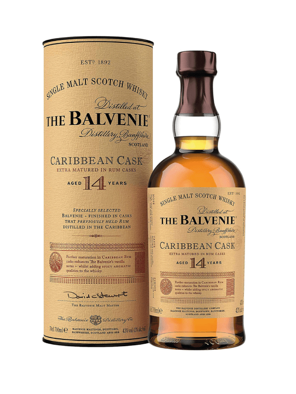 The Balvenie 14 year old whisky