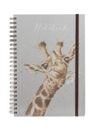 Wrendale giraffe a4 notebook