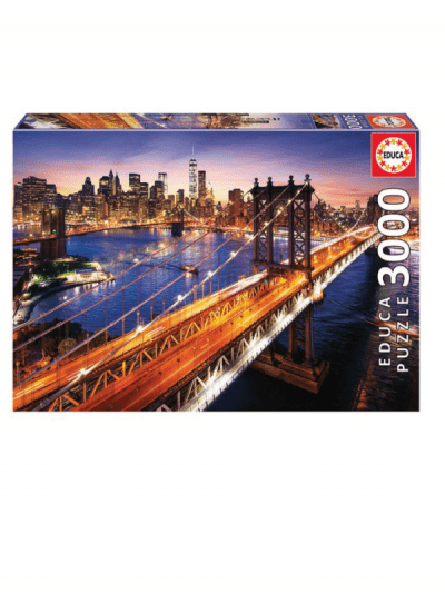 Educa Brooklyn bridge 3000 piece jigsaw