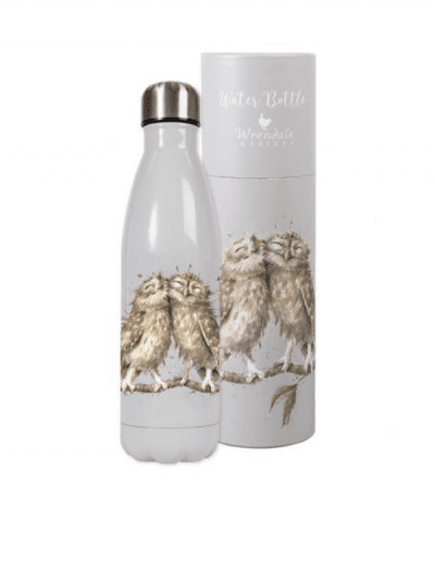 Wrendale birds of a feather water bottle