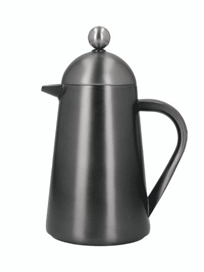 La Cafetiere 3 cup cafetière gun metal grey