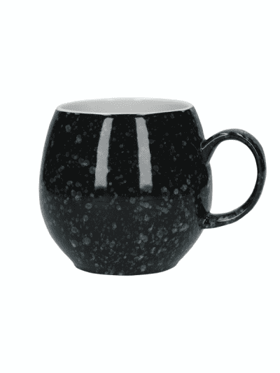 London Pottery mug - blacked flecked