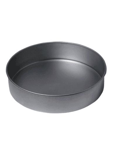 Metal cake baking pan