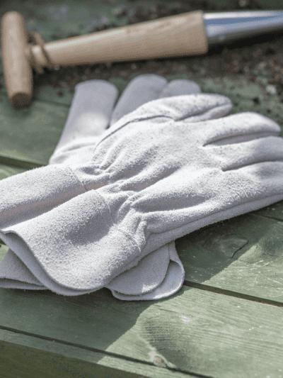 Garden Trading suede gardening gloves
