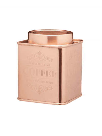 Le Xpress coffee tin - copper