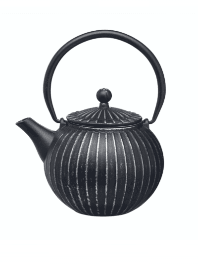 Le Express cast iron teapot - black