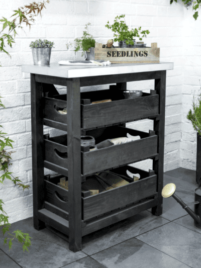 Garden Trading wooden shed unit