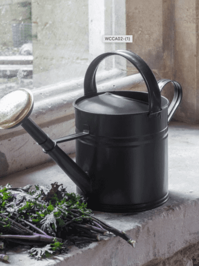 Garden trading 5L watering can on garden ledge