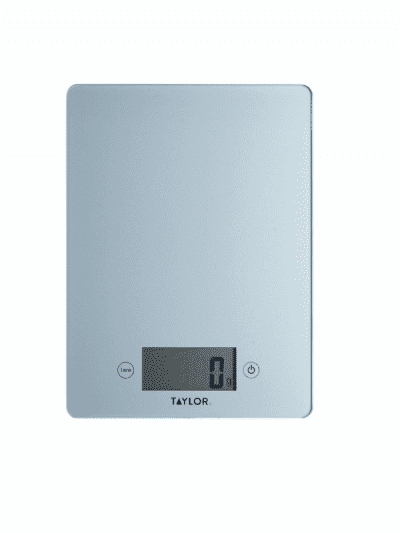 Taylors 5kg digital scales - pewter