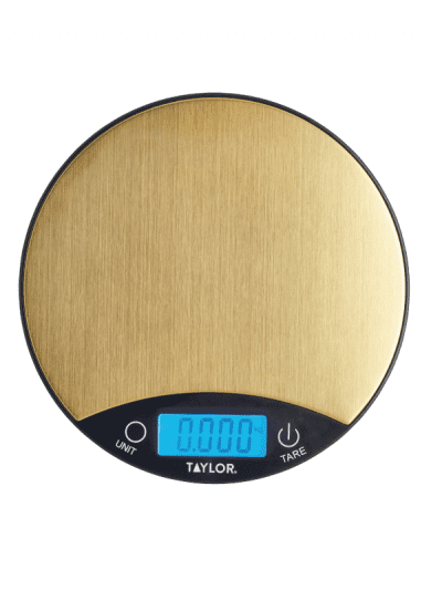 Taylors Eye Witness 5kg digital scales - gold