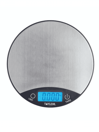Taylors Eye Witness 5kg digital scales - silver