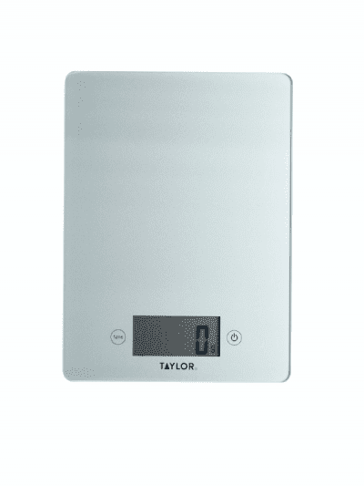 Taylors 5kg digital scales - silver