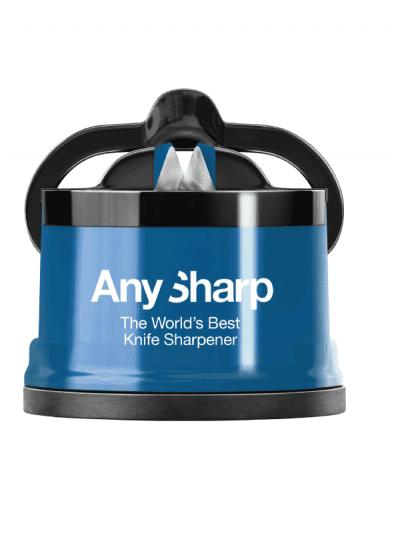 Anysharp knife sharpener blue