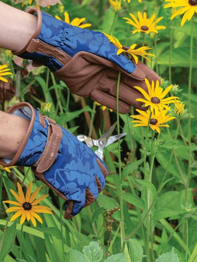 Burgon & Ball gardening gloves navy