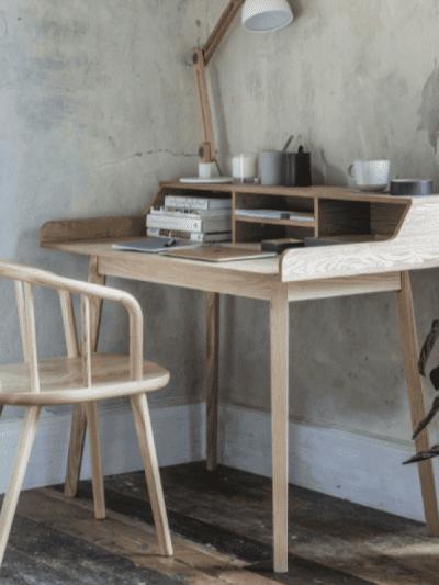 garden trading desk with storage