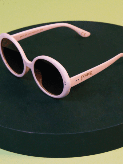 powder pink sunglasses