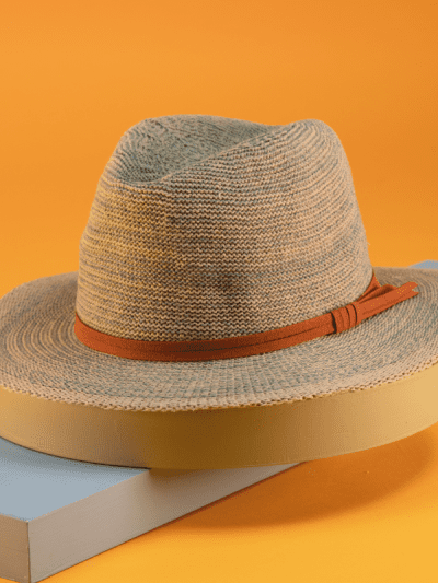 powder turquoise summer hat