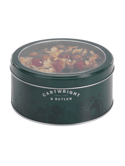 Cartwright and butler cherry and almond round fruit cake