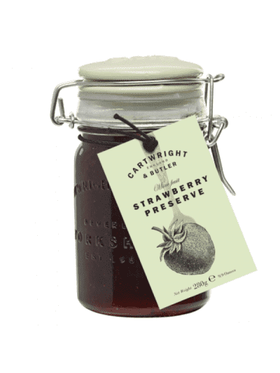 Cartwright and butler strawberry preserve