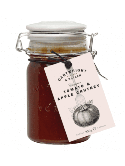 Cartwright and butler tomato and apple chutney