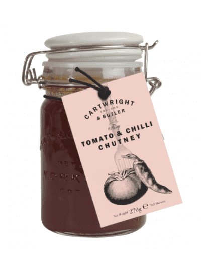 cartwright and butler tomato and chilli chutney
