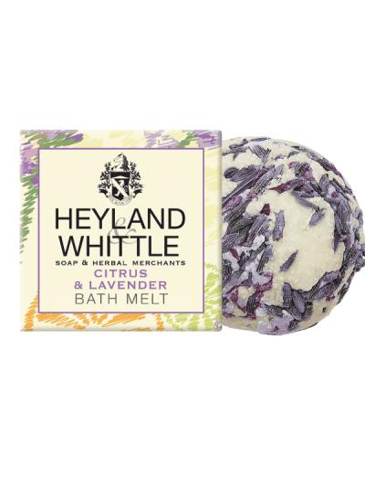 Leyland and whittle citrus and lavender bath melt
