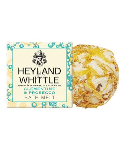 Heyland and whittle clementine rose bath melt