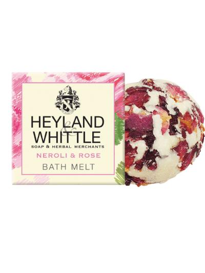 Leyland and whittle neroli and rose bath melt
