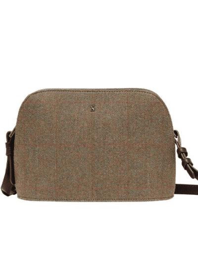 joules Adeline tweed dome bag