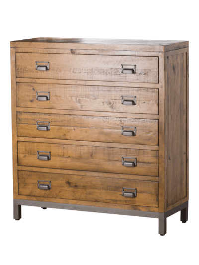 the draftsman collection 5 drawer chest