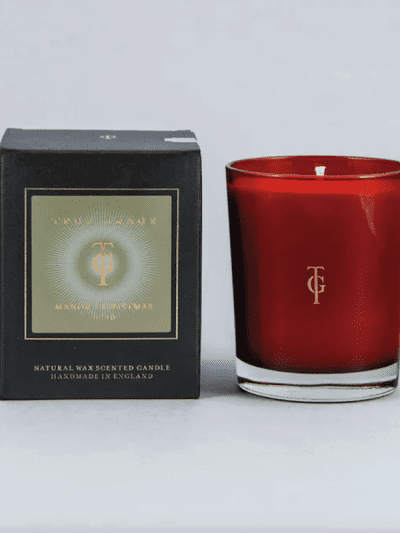 true grace manor Christmas candle