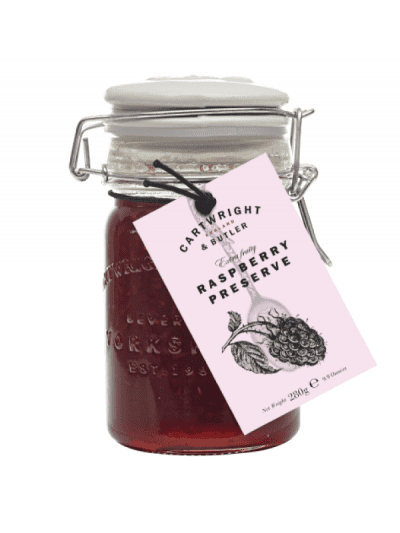 Cartwright and butler raspberry preserve