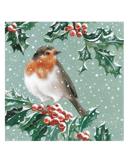the art file robin and holly greetings cards