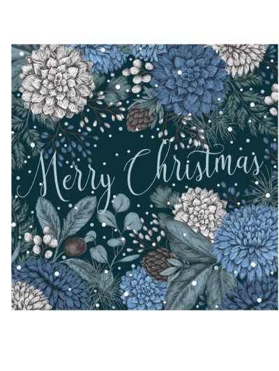 the art file sapphire and snow luxury greetings cards