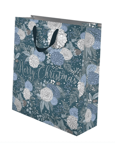 the art file sapphire and snow large gift bag